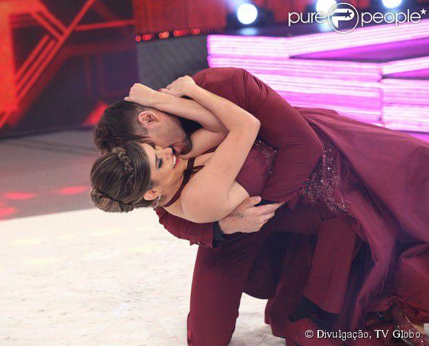 Lucas Lucco é eliminado do 'Dança dos Famosos' com o ritmo foxtrote neste domingo, 19 de outubro de 2014