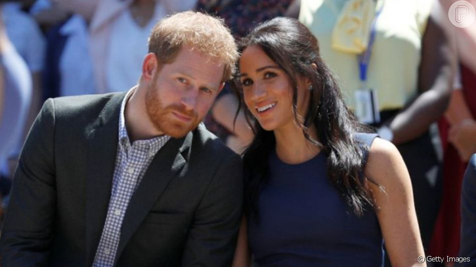 Meghan Markle e Harry passam por tensão com família real, diz fonte à revista 'People' nesta quarta-feira, dia 20 de novembro de 2019