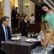 'Salve Jorge': Amanda (Lisandra Souto) flagra marido com Antonia e arma barraco