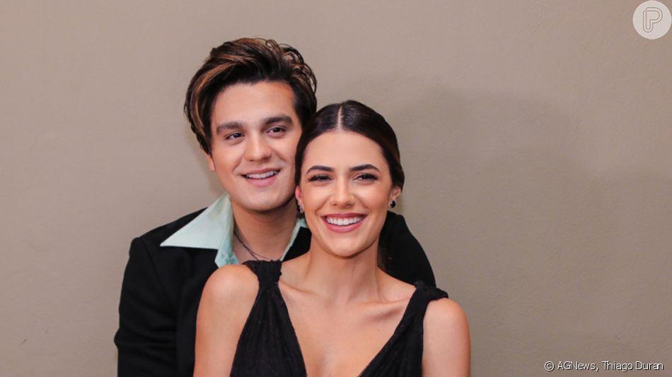 Luan Santana levou a noiva, Jade Magalhães, para premiação 'Brasileiros do Ano', da revista 'Isto É', na noite desta segunda-feira, 2 de dezembro de 2019