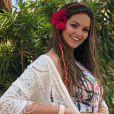 Filha de Kelly Key, Suzanna Freitas rebateu crítica por foto de body na web