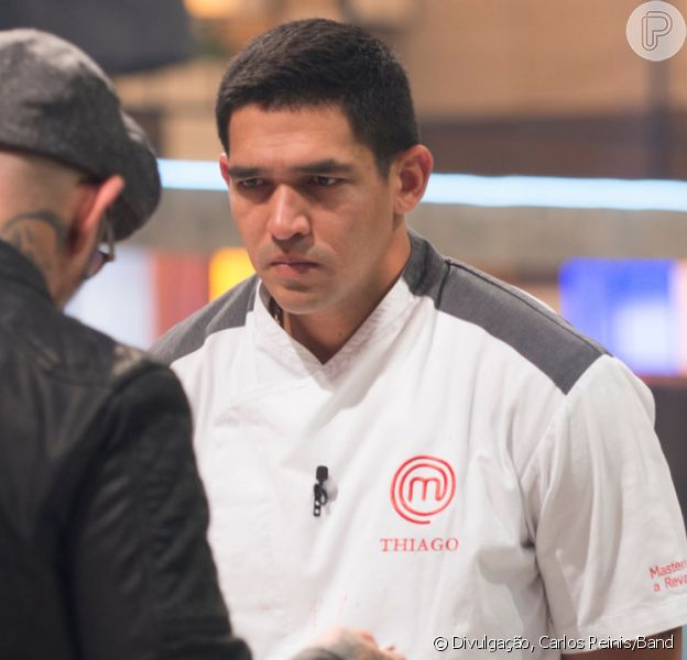 Em 'MasterChef', Major da PM Thiago Gatto é eliminado
