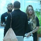 Rafaella Santos elege look all black para passeio com namorado, Gabigol. Fotos!