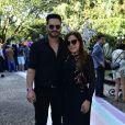 Zilu Camargo vai a aniversário de Zoe com o namorado, Marco Ruggiero