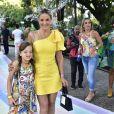 Ticiane Pinheiro vai com a filha, Rafaella Justus, à festa de Zoe