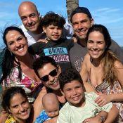 Zezé Di Camargo reúne noiva, filhas, genros e netos: 'Amor acima de tudo'. Foto!