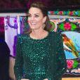 O verde é uma das cores favoritas para os vestidos de festa de Kate Middleton