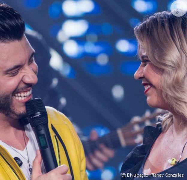 Marília Mendonça curte show de Murilo Huff após gravidez nesta quarta-feira, dia 15 de janeiro de 2020