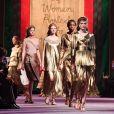 Tendência de moda Dior: o metalizado e os tons de dourado apareceram com força no desfile da grife
