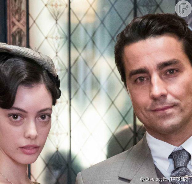 Nos próximos capítulos da novela 'Éramos Seis', pai do filho de Clotilde (Simone Spoladore), Almeida (Ricardo Pereira) acaba casamento com Natália (Marcela Jacobina). Saiba motivo!