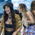 Bianca Andrade confessou a Gabi Martins que tentou beijar Guilherme na festa