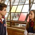 Na novela 'As Aventuras de Poliana', Filipa (Bela Fernandes) afirma que Poliana (Sophia Valverde) foi quem criou o perfil da web que 'shippa' ela e Eric (Lucas Burgatti) no capítulo de quarta-feira, 19 de fevereiro de 2020