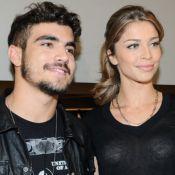 É namoro! Caio Castro confirma relação com Grazi Massafera em jantar romântico