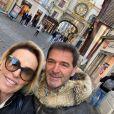 Ana Maria Braga e o francês Johnny Lucet tiveram os filhos e a nora da apresentadora como padrinhos