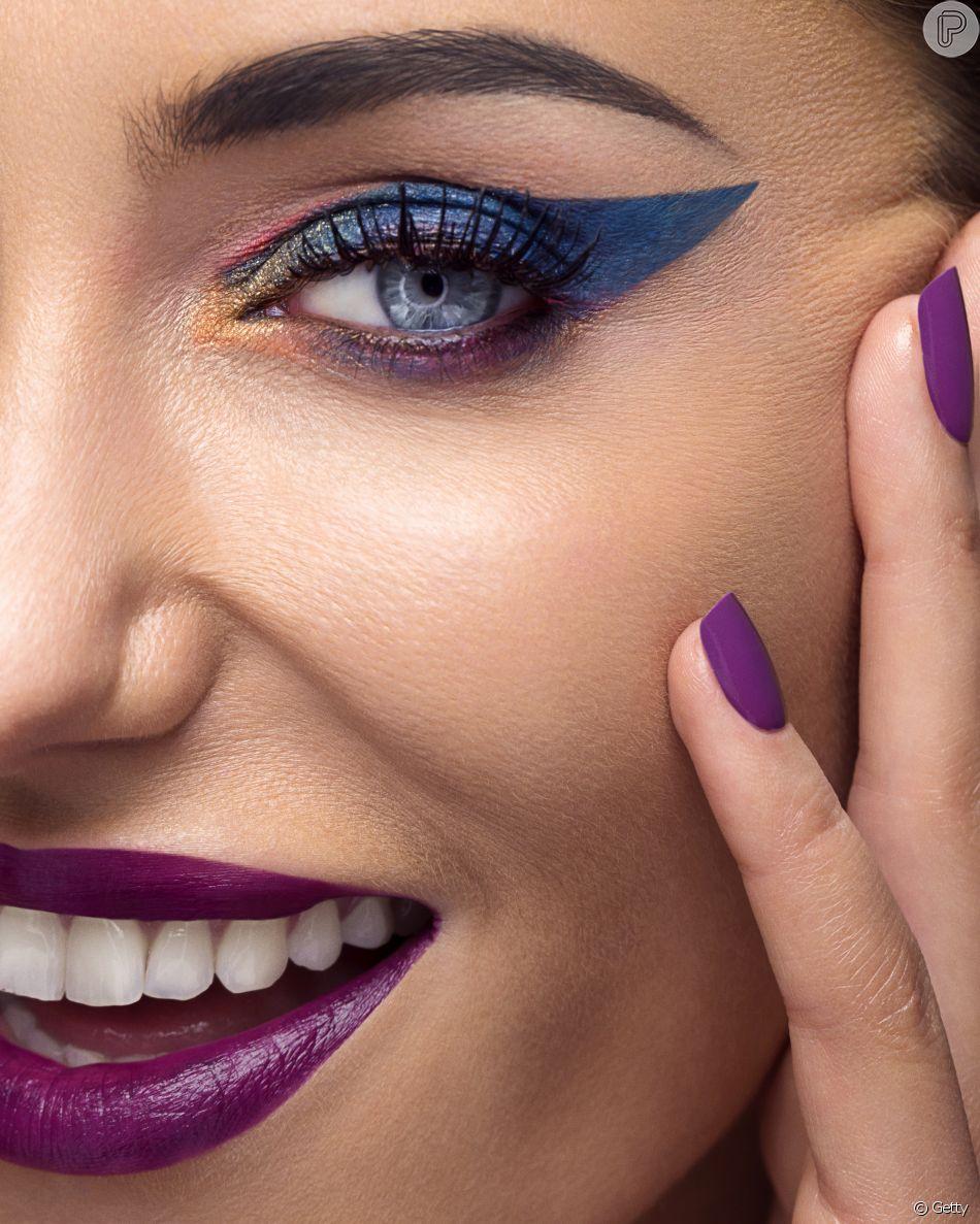 Separamos tendências de cores e estilos para você se jogar na maquiagem de Carnaval!