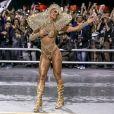 Carnaval de Sabrina Sato: corpo musculoso e fantasia sem penas é destaque em desfile pela Gaviões da Fiel
