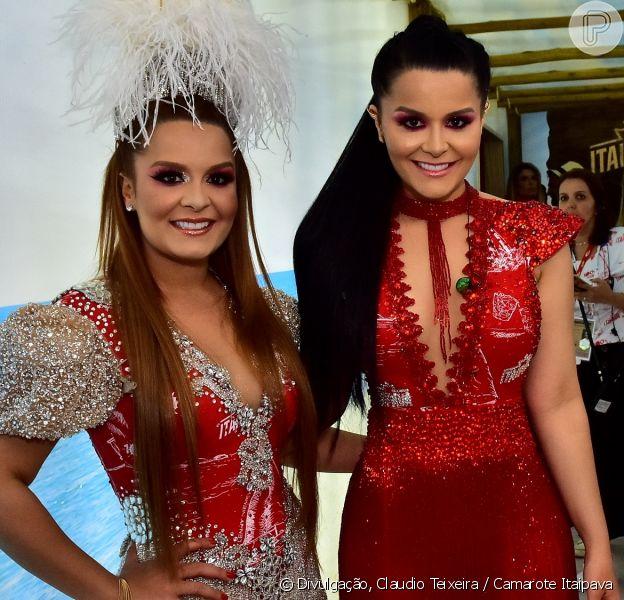 Maiara, da dupla com Maraisa, contou que mantém cuidados com corpo no Carnaval