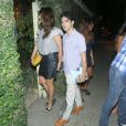 Caio Blat e Maria Ribeiro entram na festa de Regina Casé