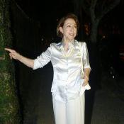 Regina Casé recebe amigos famosos em sua festa de aniversário de 59 anos no Rio