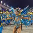 Lexa esbanjou simpatia e boa forma no carnaval carioca.