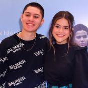 Casal fashion! Maisa e Nicholas Arashiro conferem première de Bruna Marquezine