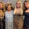 Marília Mendonça faz foto com cantoras em volta à TV