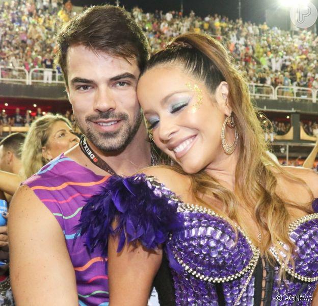 Renata Dominguez eLeandro Gléria estão noivos