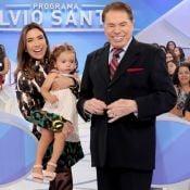 Filha de Patricia Abravanel, Jane rouba a cena em fotos com avô Silvio Santos
