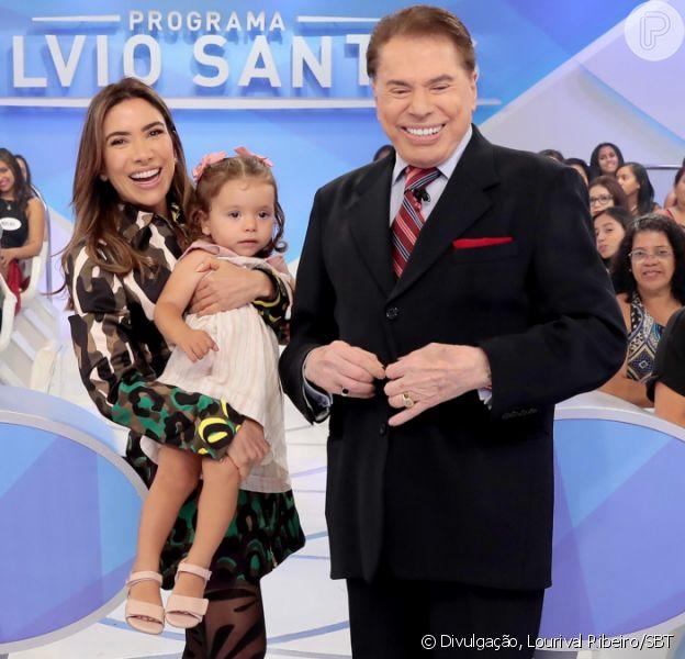 Filha de Patricia Abravanel chamou atenção pela semelhança com avô Silvio Santos