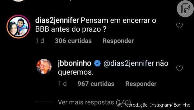 'BBB20' não deve ser cancelado, indica Boninho