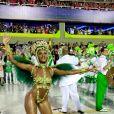 Musa da Imperatriz Leopoldinense, Iza foi exemplo de sororidade no Carnaval