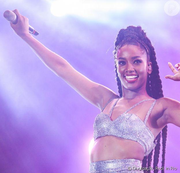 Iza é inspiração! Veja momentos em que a cantora destacou importância do empoderamento e feminismo em matéria nesta quarta-feira, dia 18 de março de 2020
