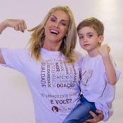 Ana Hickmann, sem coronavírus, reencontra filho após isolamento. Vídeo!