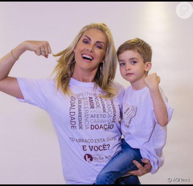 Ana Hickmann, sem coronavírus, reencontra filho após isolamento. Veja vídeo postado pela apresentadora nesta quarta-feira, dia 25 de março de 2020