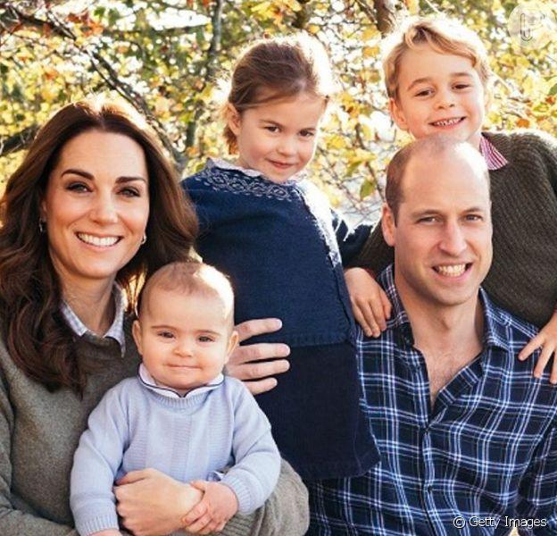 Filhos de Kate Middleton e Príncipe William, George, Charlotte e Louis aplaudiram os profissionais de saúde envolvidos no combate ao covid-19