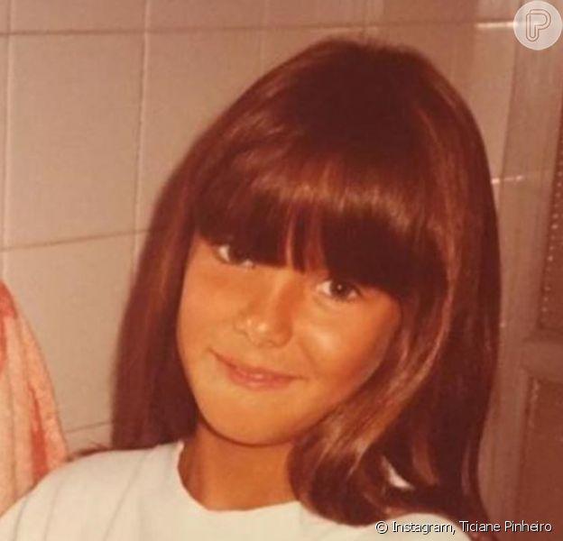 Ticiane Pinheiro foi comparada à filha Rafinha em foto de infância: 'Toda Você'