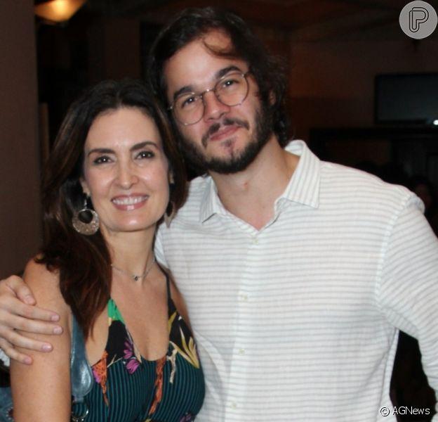 Fátima Bernardes falou sobre rotina com namorado, Túlio Gadêlha