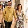Fátima Bernardes e Túlio Gadêlha estão juntos desde novembro de 2017
