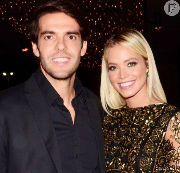 Mulher de Kaká, Carol Dias revela estar grávida do primeiro filho do casal