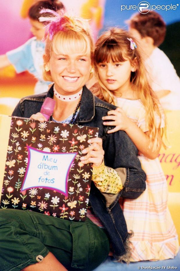 Sasha é a grande rea lização na vida de Xuxa. A apresentadora sempre faz declarações de amor para a filha. Em 2004, a menina visitou a mãe no programa 'Xuxa no Mundo da Imaginação'