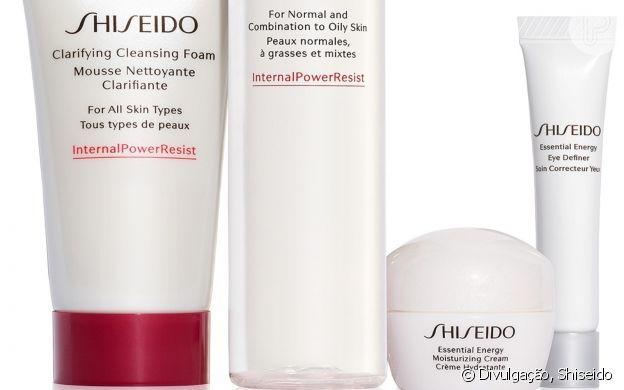 Shiseido oferece a Awaken Energy - The Beauty Roboot Set (R$299)