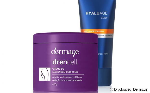 Dermage possui o kit Drencell + Hyaluage Body (R$199,30)