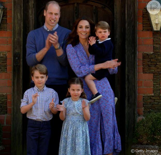 Família Real comemorou aniversário da princesa Charlotte com fotos inéditas