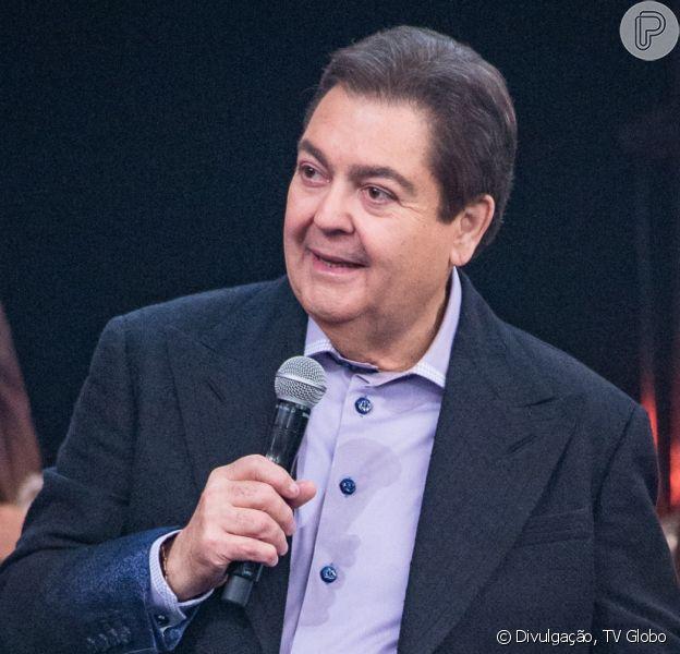 Mulher de Fausto Silva negou plástica no rosto do apresentador