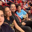 Fausto Silva é casado com Luciana Cardoso, com quem tem dois filhos