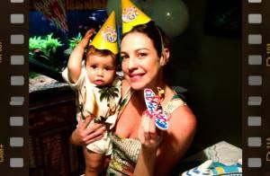 Luana Piovani comemora os 11 meses do filho, Dom: 'Minha vida'