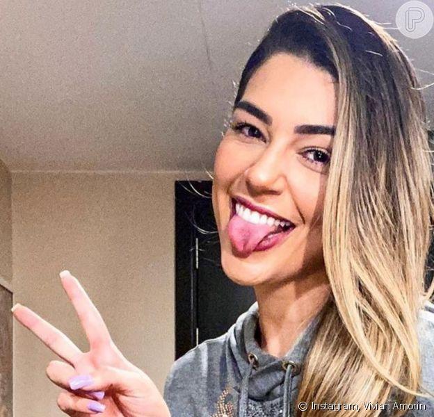 Ex-BBB Vivian Amorim assumiu namoro com publicitário na web neste quinta-feira, 8 de maio de 2020