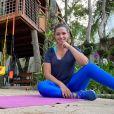 Thais Fersoza tem usado casa na árvore para treinar durante pandemia