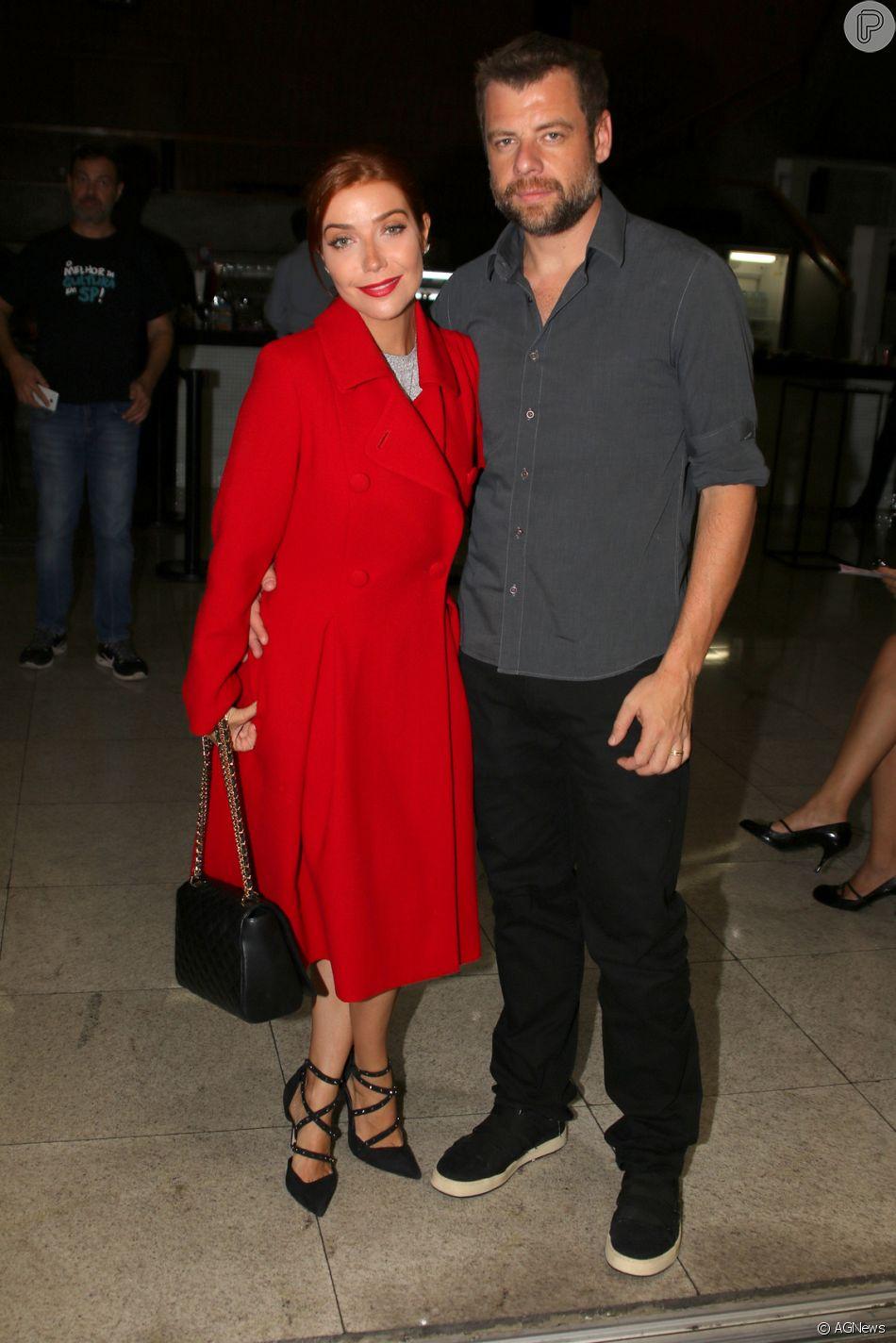Luiza Possi é casada com o diretor de TV Cris Gomes