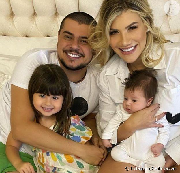 Filha de Cristiano e Paula Vaccari completou 3 anos nesta sexta-feira, 15 de maio de 2020